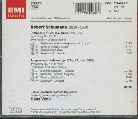 Symphonien nos.2 & 4