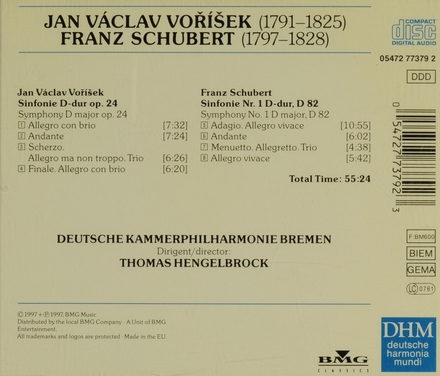 Sinfonie D-dur op.24