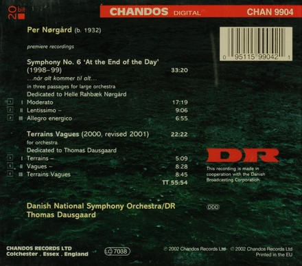 Symphony no.6 'At the end of the day'