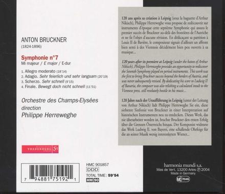 Symphonie no. 7