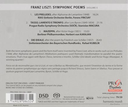 Symphonic poems (I). vol.1