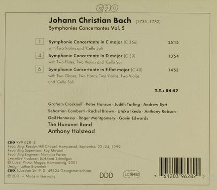 Symphonies concertantes vol.5. vol.5