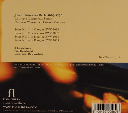 Complete orchestral suites