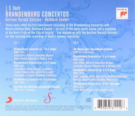 Brandenburg concertos