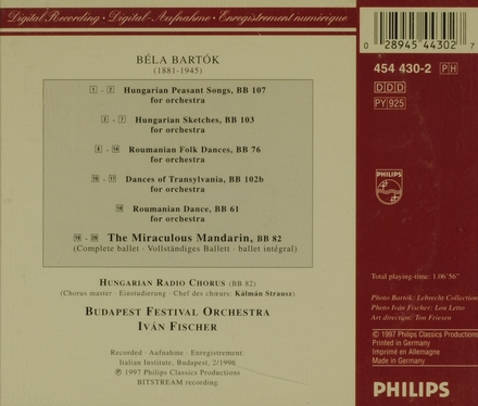 The orchestral works. Vol. 1