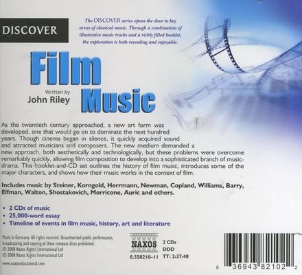 Film music written by John Riley
