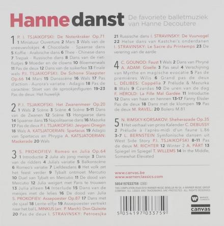 Hanne danst : de favoriete balletmuziek van Hanne Decoutere