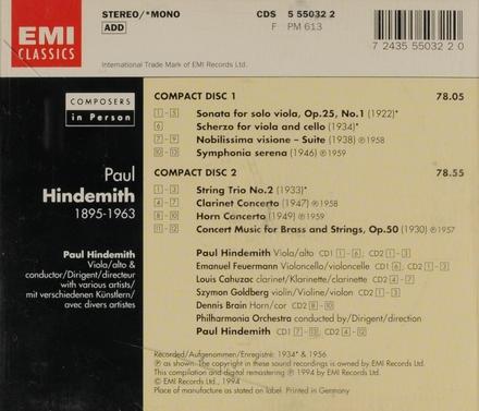 Sonata for solo viola, op. 25 no. 1