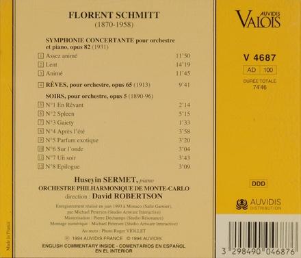 Symphonie concertante, op. 82