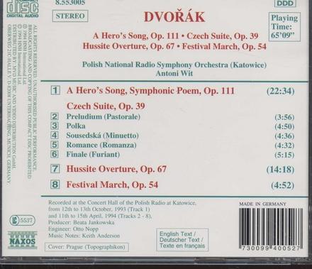 A hero's song, symphonic poem op.111