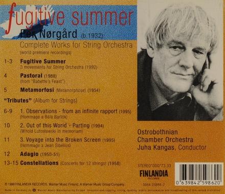 Fugitive summer