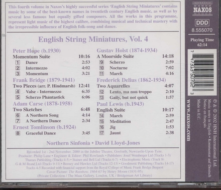 English string miniatures vol.4. vol.4
