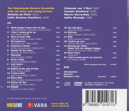 Later : Live at the Concertgebouw Amsterdam January 1 2005