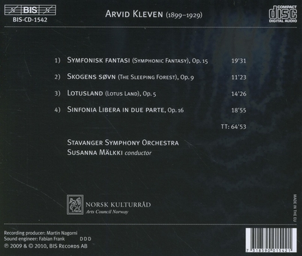 Lotusland : symphonic works by Arvid Kleven