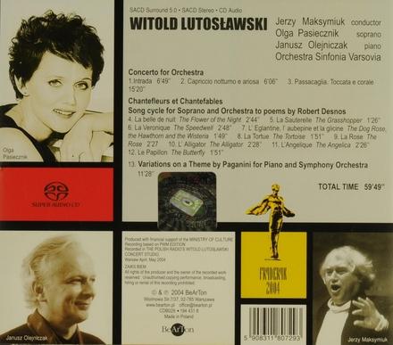 Concerto for orchestra