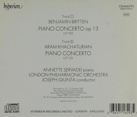 Piano concerto op 13