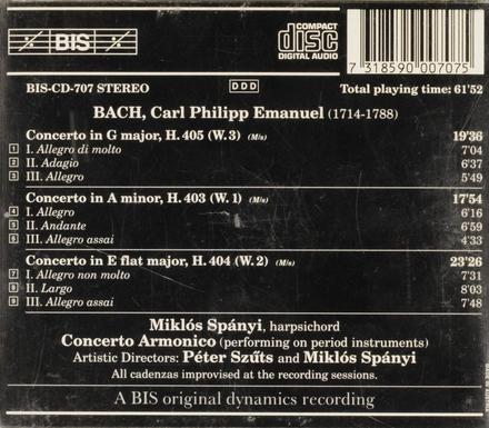 The complete keyboard concertos volume 1. vol.1