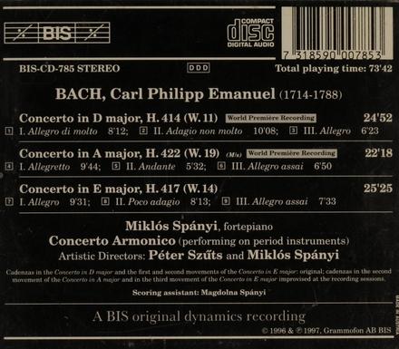 The complete keyboard concertos. Vol. 5