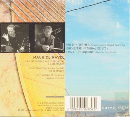 Concerto pour piano et orchestre en sol majeur