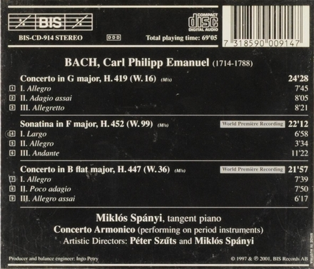 The complete keyboard concertos - volume 10. vol.10