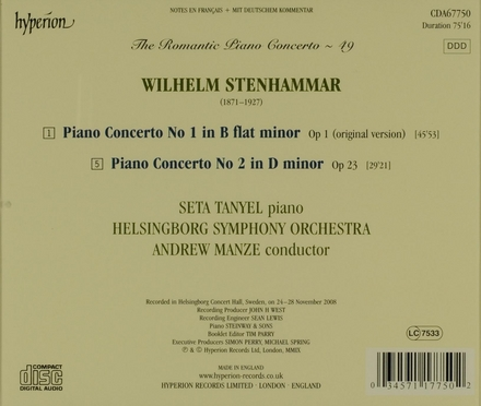 The romantic piano concerto. 49