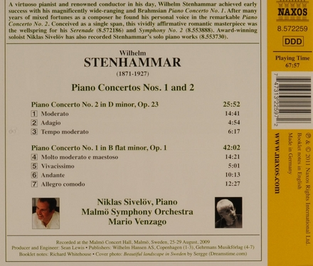Piano concertos nos.1 and 2