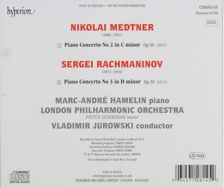 Medtner - Rachmaninov : piano concertos