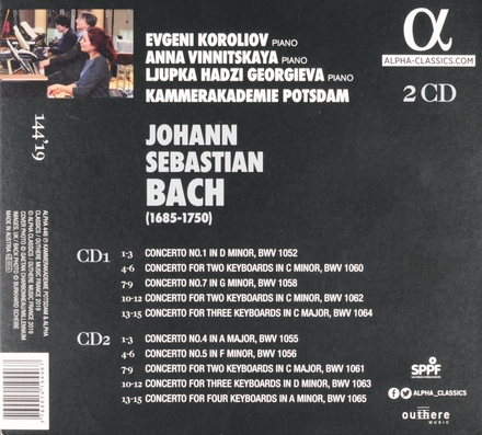 Concertos for pianos
