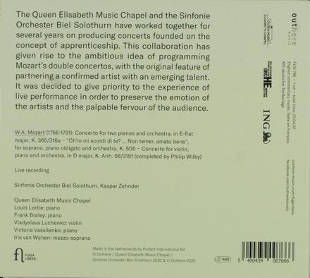 Double concerti K.365, K.505 & K.Anh.56/315f