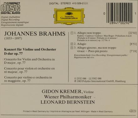 Konzert für Violine und Orchester op.77
