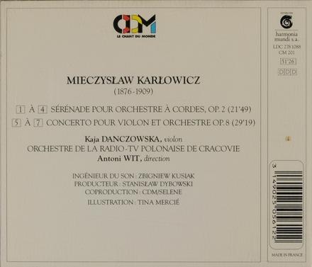 Sérénade pour orchestre à cordes, op.2