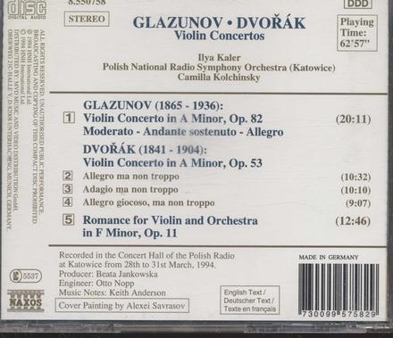 Violinconcertos