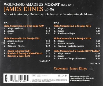 The complete violin concertos