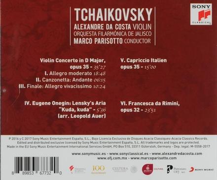 Violin concerto in D major, opus 35
