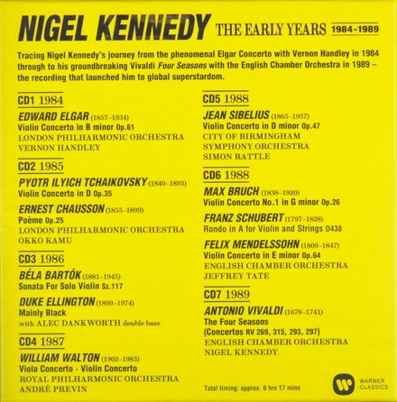 The early years : 1984-1989