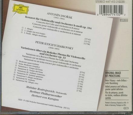 Konzert für Violoncello und Orchester op.104