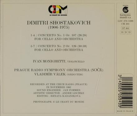 Concertos no.1 op.107