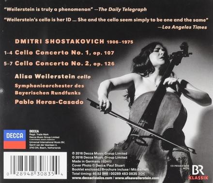 Cello concertos 1 + 2