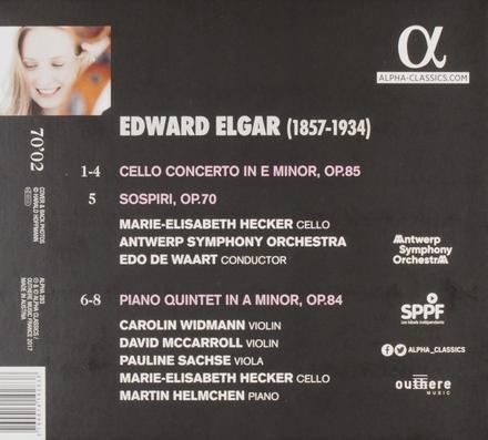 Cello concerto ; Piano quintet