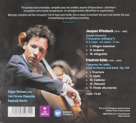 Offenbach . Gulda : cello concertos