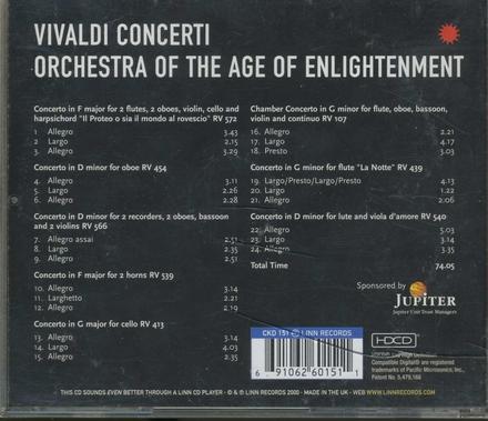 Concerto in F major 'Il Proteo o sia il mondo al rovescio' RV 572