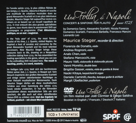 Una follia di Napoli : concerti & sinfonie per flauto