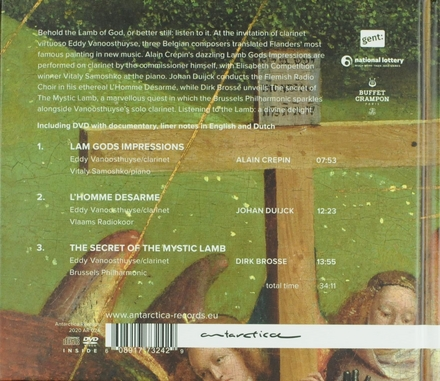 Van Eyck revisited : The clarinet & the mystic lamb