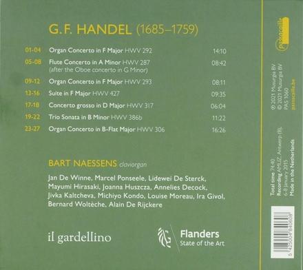 Claviorganum : concertos & sonatas