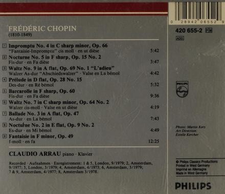 Impromptu no.4 in c sharp minor, op.66