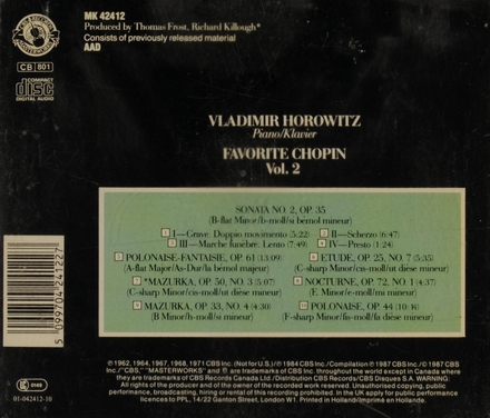 Favorite Chopin. Vol. II