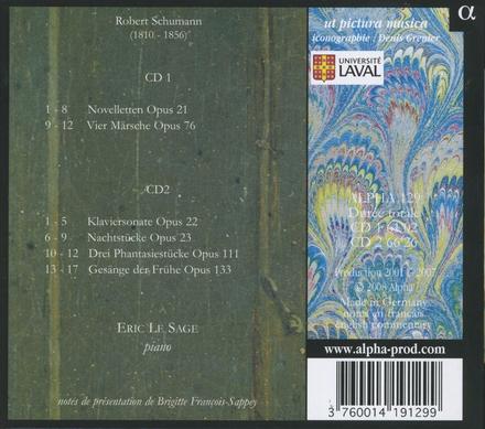 Noveletten & Märsche ; Gesänge der Frühe