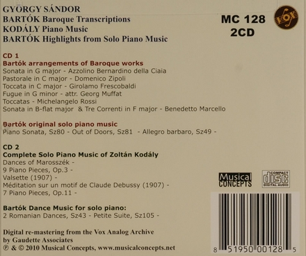 Baroque transcriptions