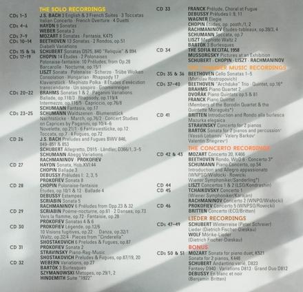 Complete Decca, Philips & DG recordings