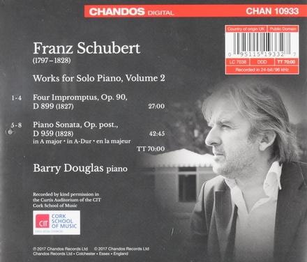 Works for solo piano vol.2. vol.2